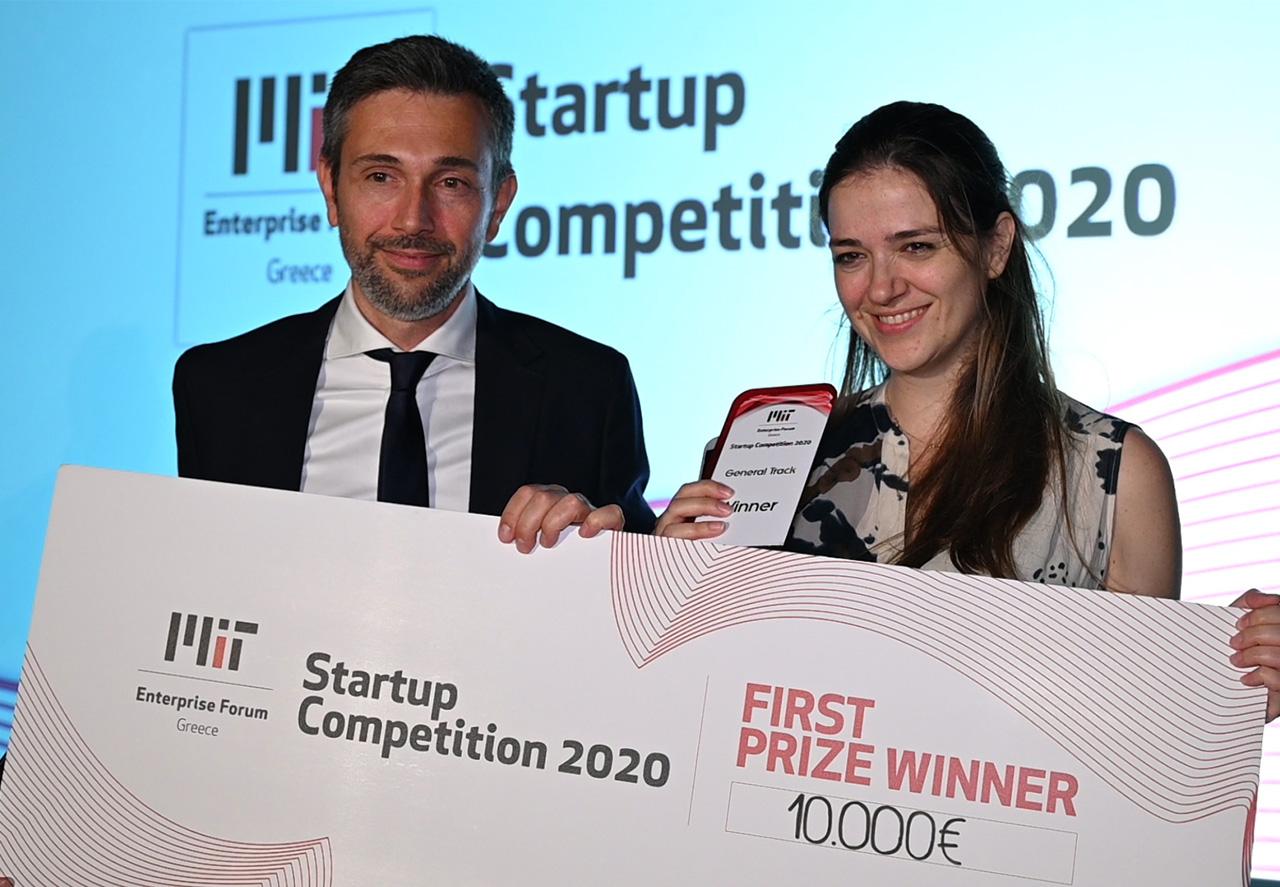 Giorgos Skretas, Dafni Delivoria - ResQ Biotech - MITEF Startup Competition 2020