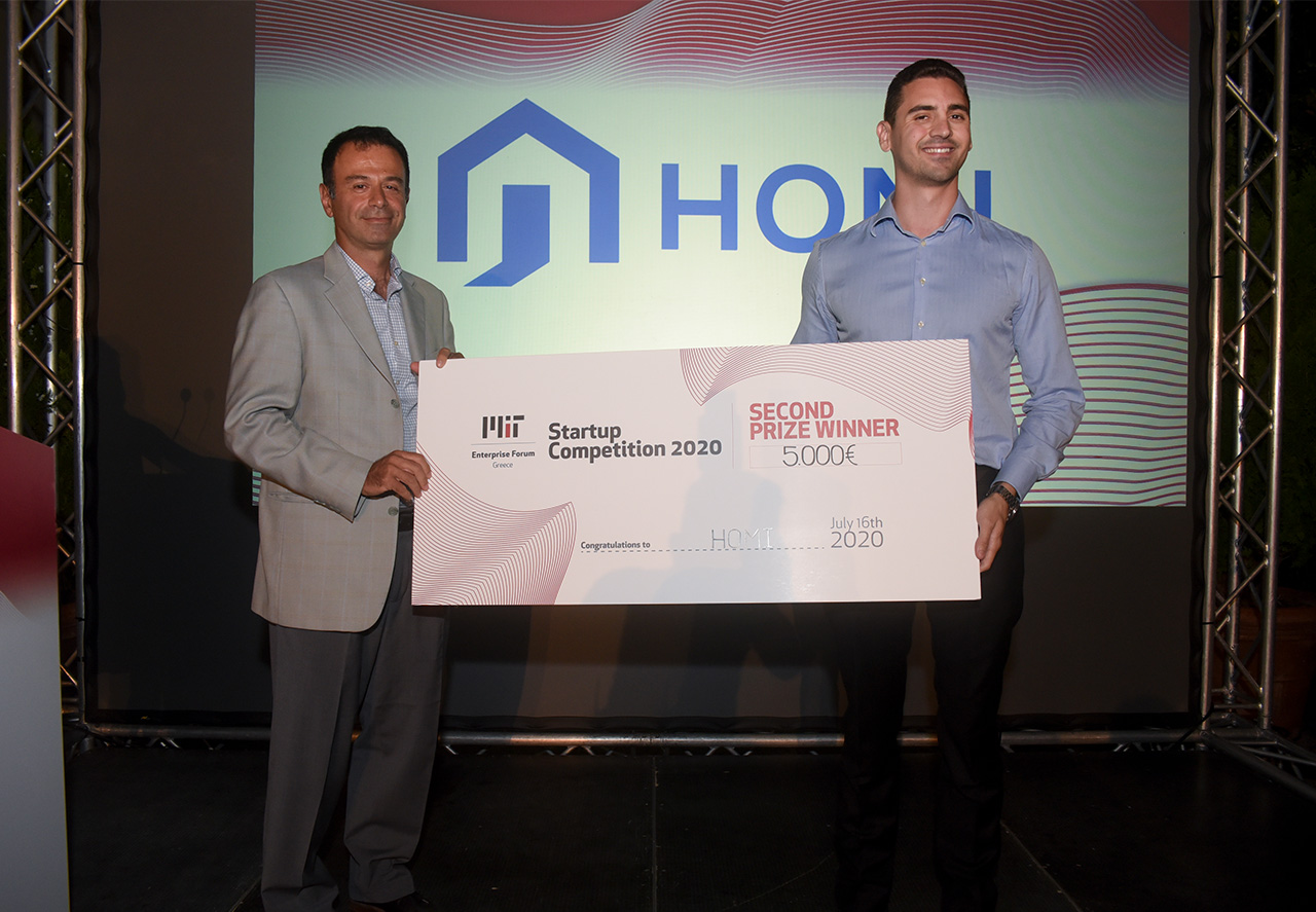 Homi 2nd Prize Winner - MITEF Startup Competition 2020