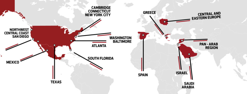 MITEF Map Global Website