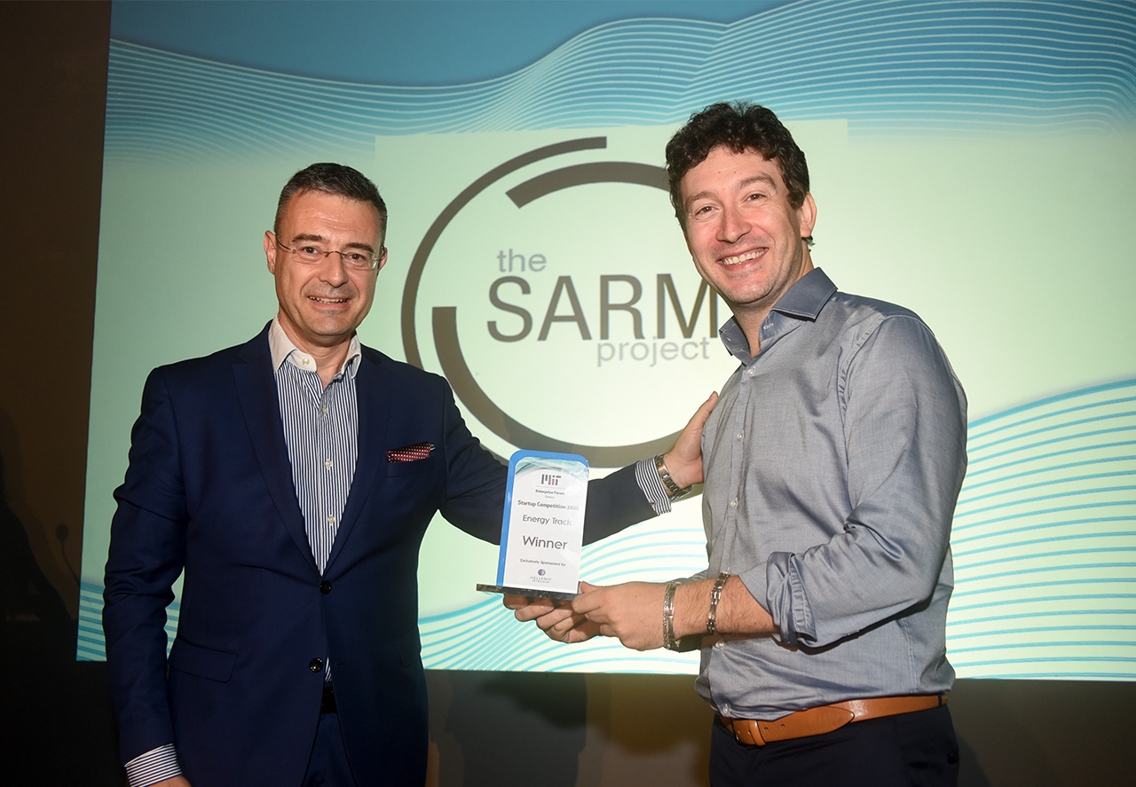 Sarm Project - Energy Track Winner Syndeseas Integrated Solutions 3rd Prize Winners - MITEF Startup Competition 2020
