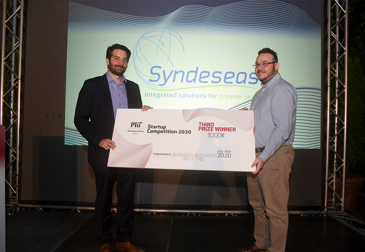 Syndeseas Integrated Solutions 3rd Prize Winners - MITEF Startup Competition 2020